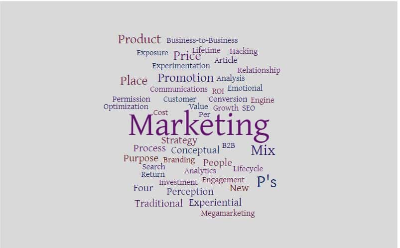 The 4 P's of Marketing include product, price, promotion, and more.