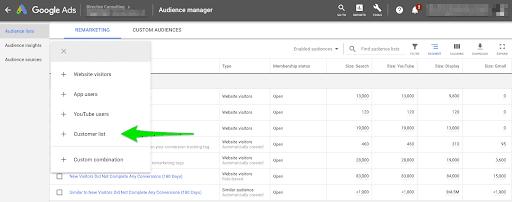 Take advantage of Google Customer Match to enhance account-based marketing.