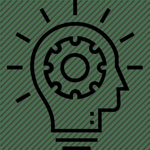 A brain logo.