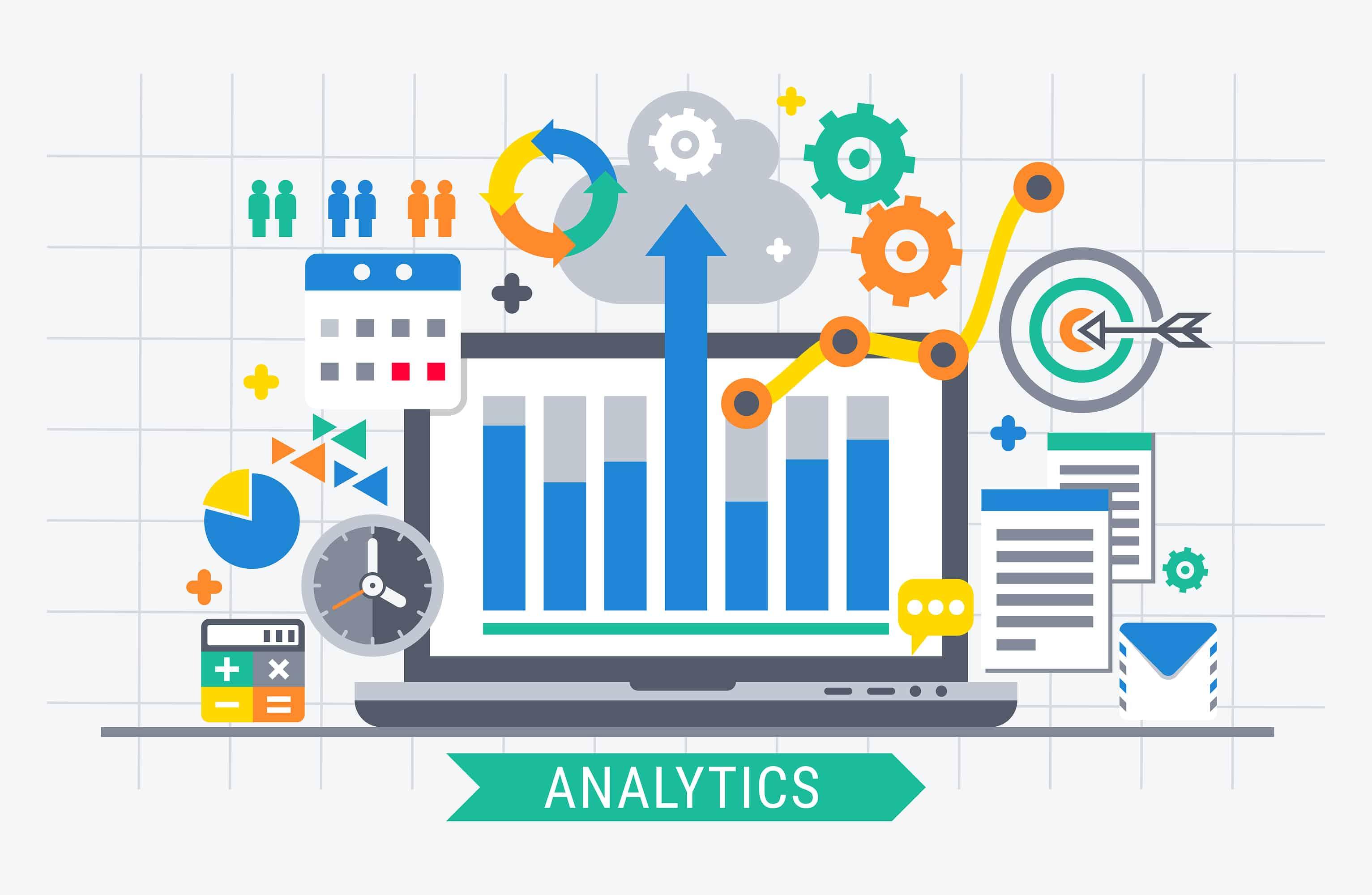 Marketing analytics is the process of analyzing marketing strategies