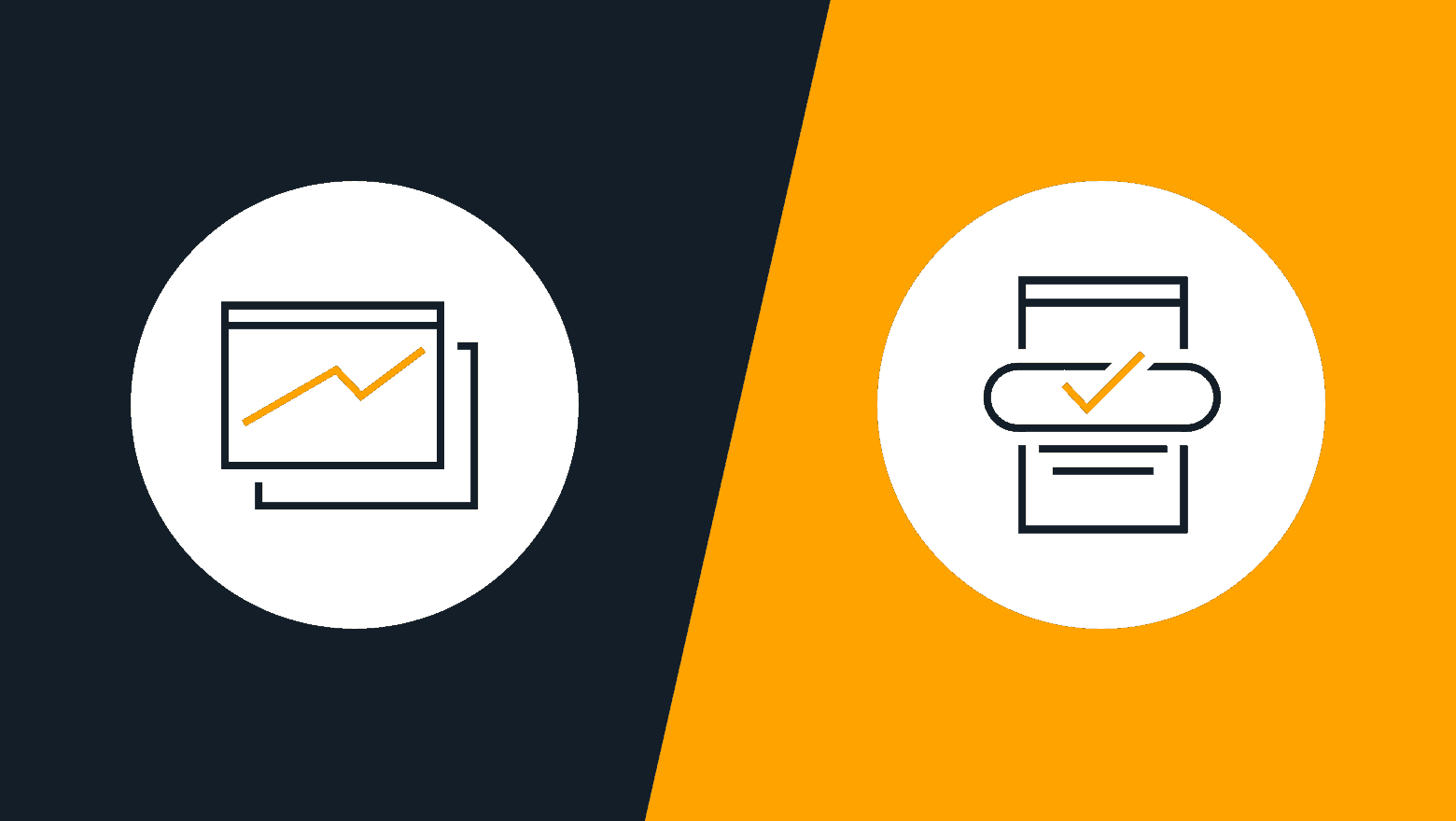 landing page vs homepage icon