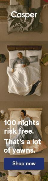 display ad example bedding