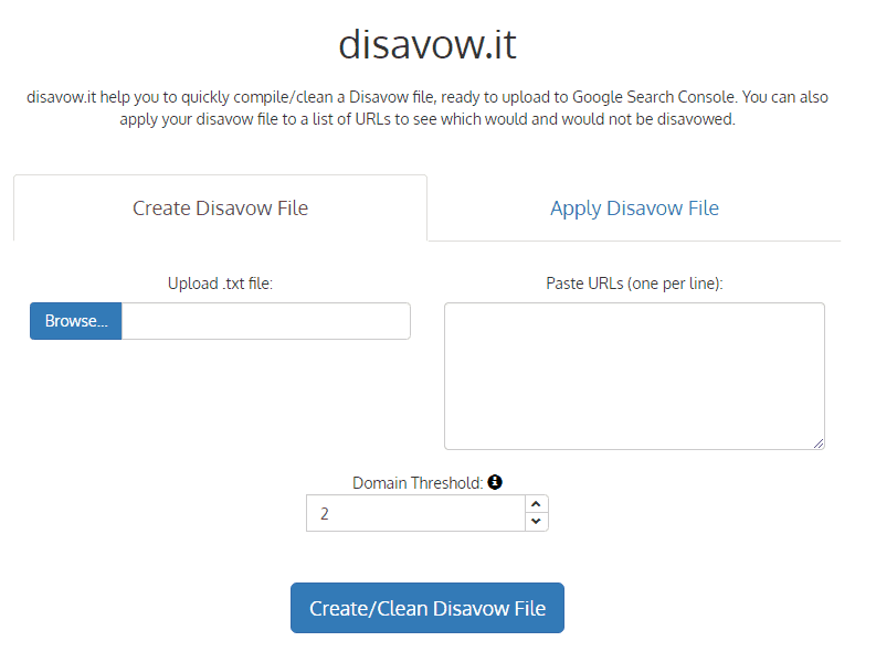 disavowit free link building tool