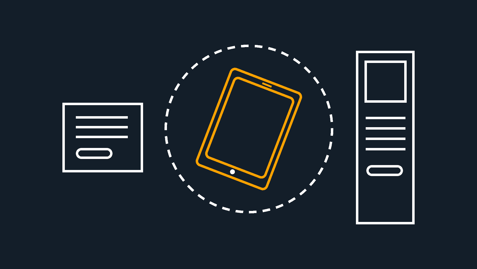 mobile ad sizes icon