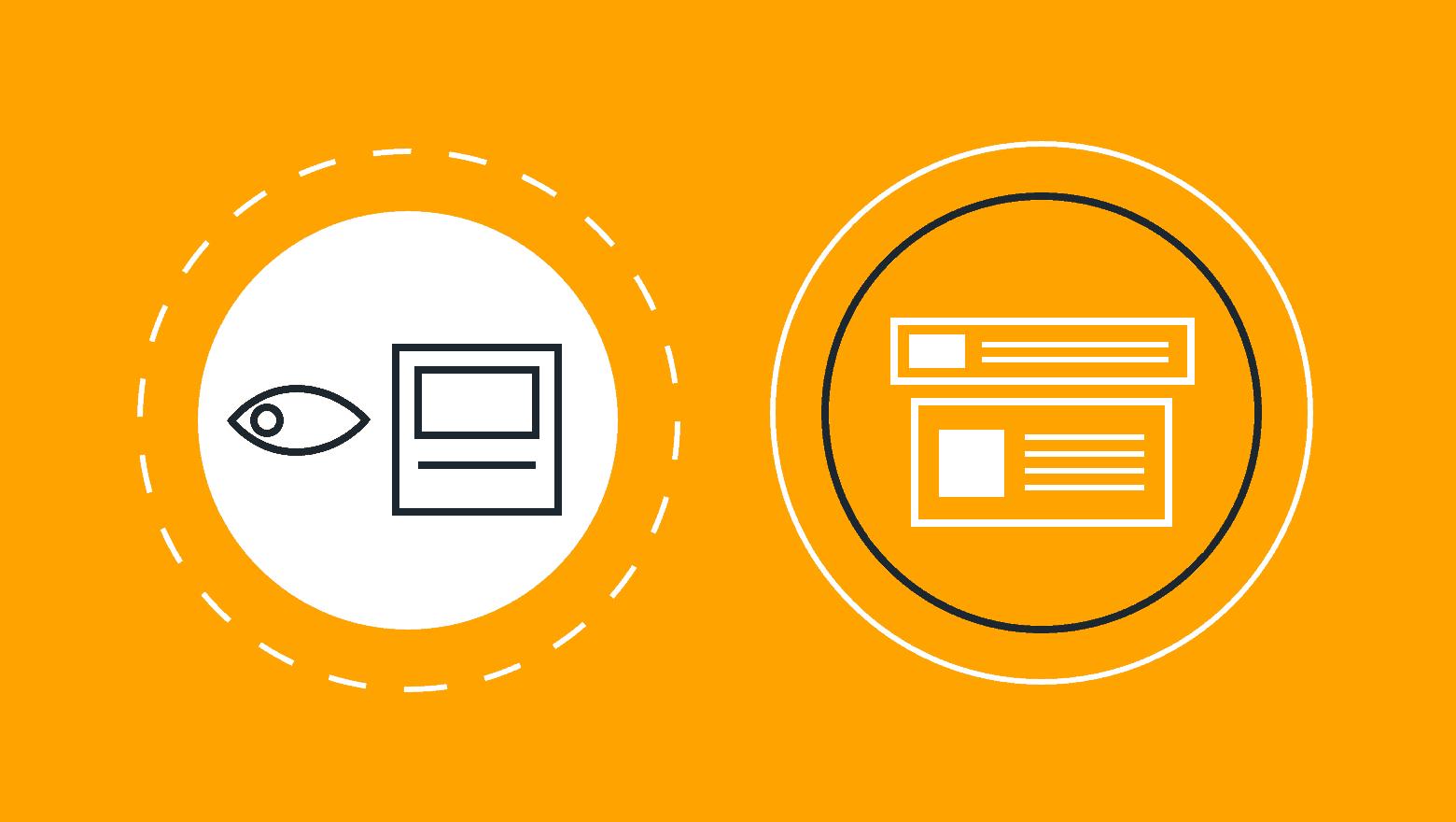 remarketing vs retargeting icon