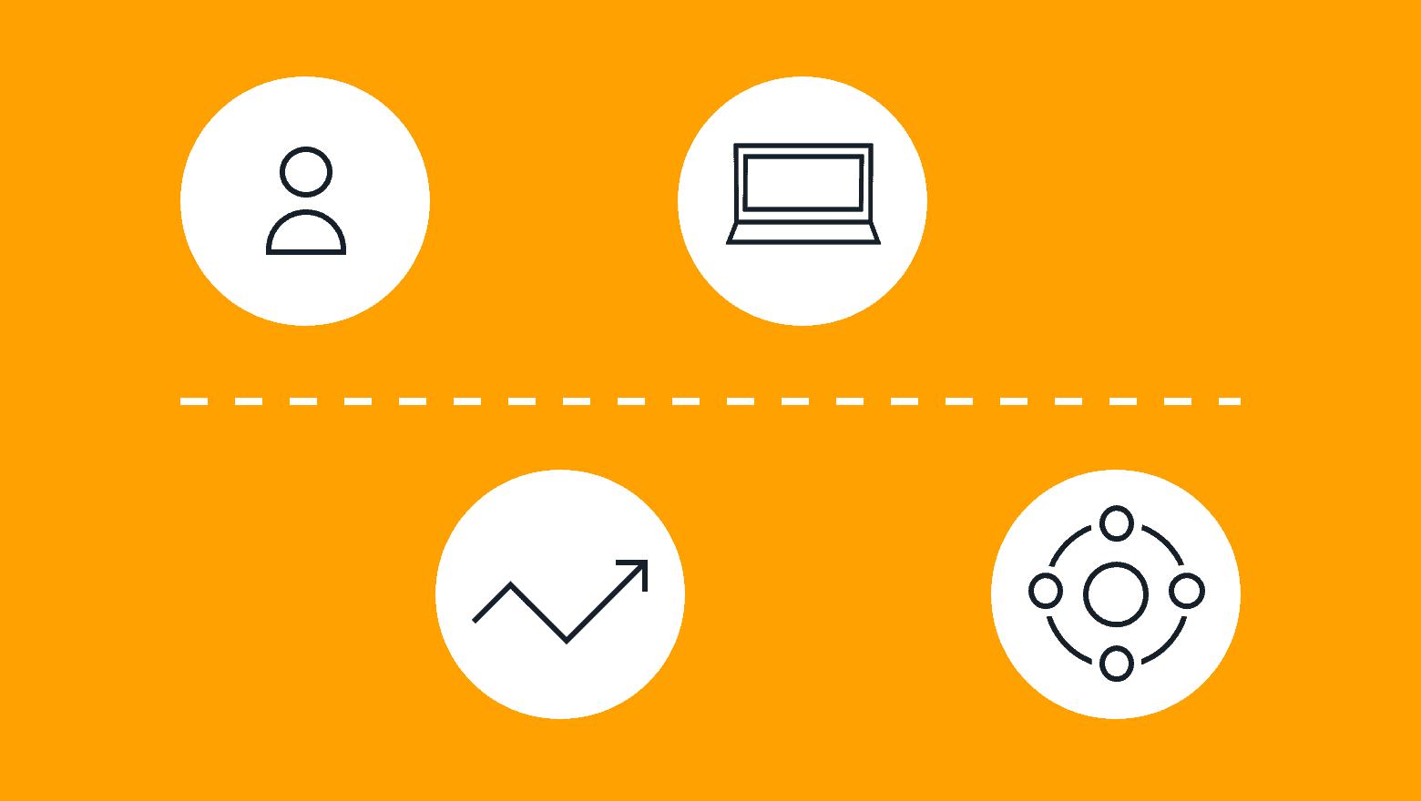 digital marketing metrics icon