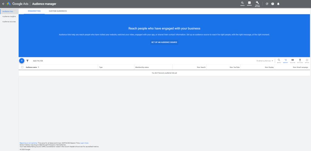 google ads retargeting platform