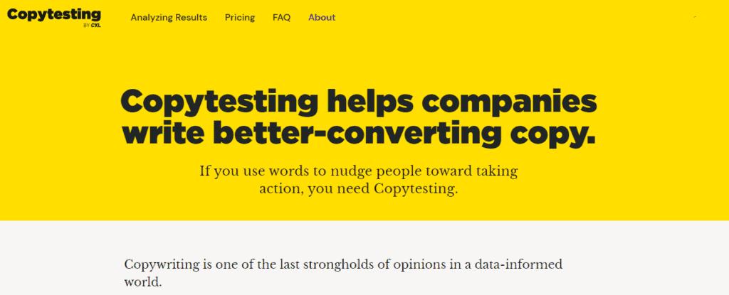 copytesting tool