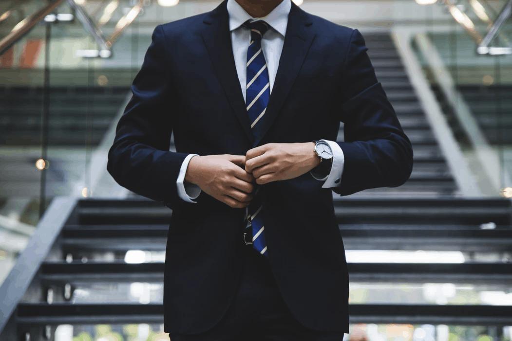 Unsplash suit stock image