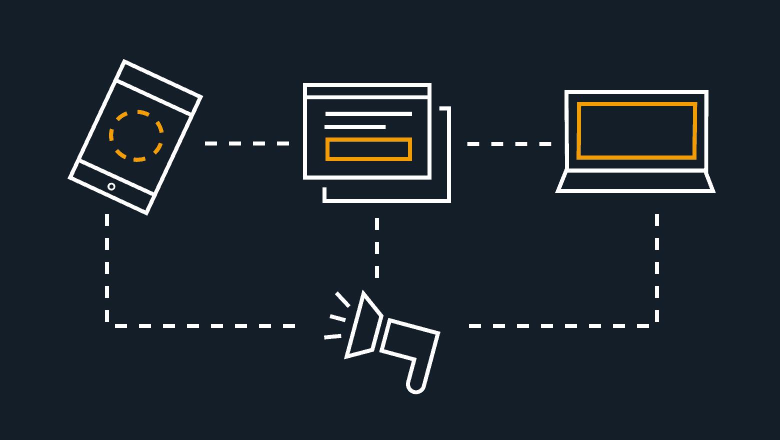types of digital advertising icon