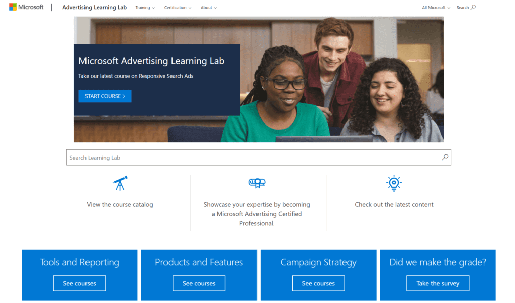 microsoft ads certification