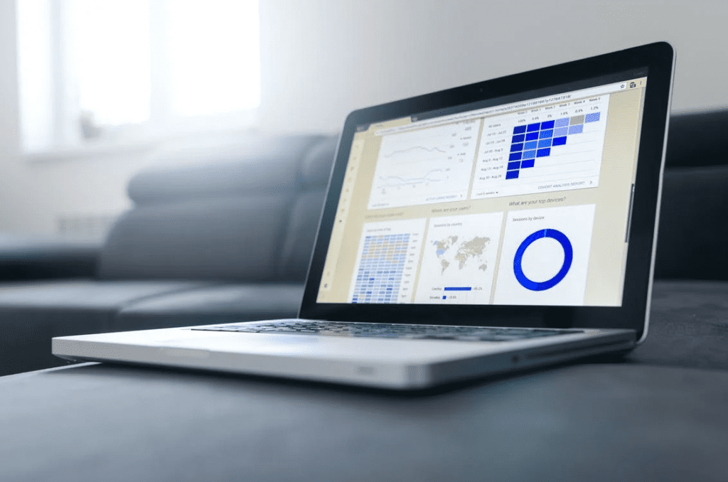 digital marketing reporting example