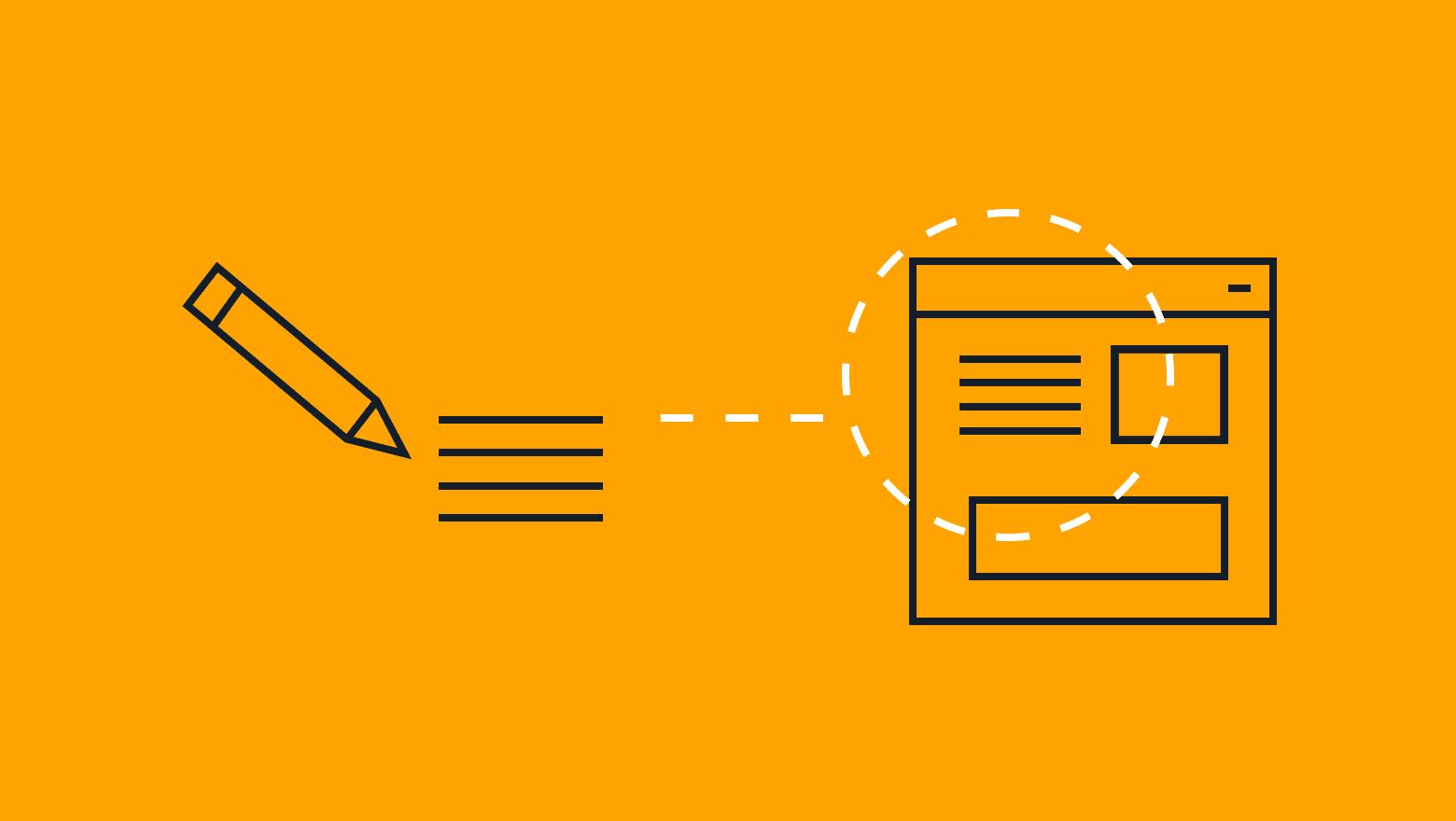 landing page copywriting icon
