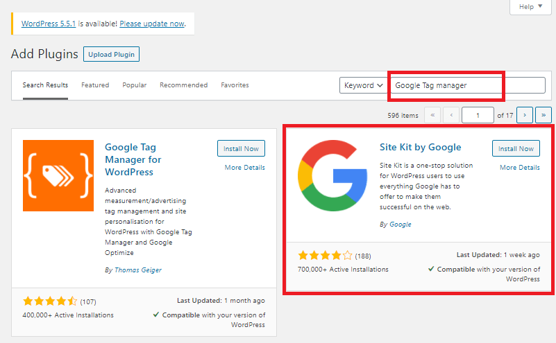 google tag manager wordpress plugin