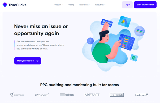 trueclicks ppc tool